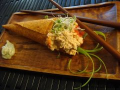 Spicy Not Tuna Wraps (raw, vegan, gluten-free, nut-free)