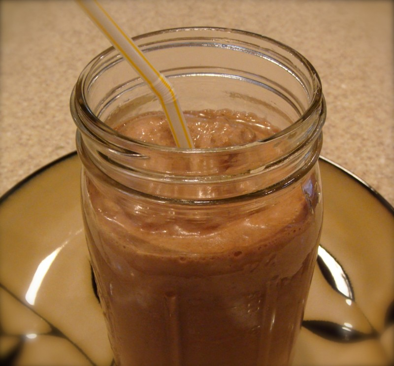 Chocolate Coconut Hemp Shake