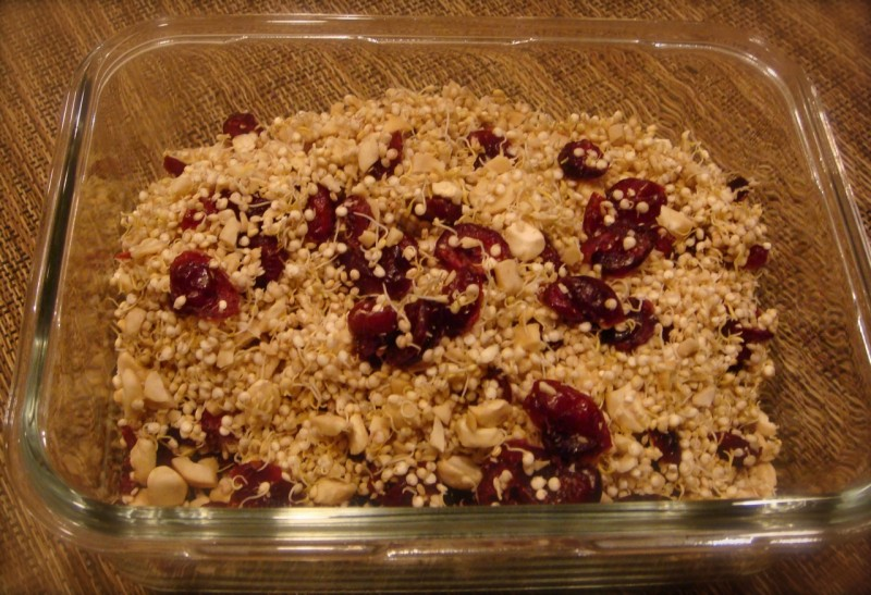 Quinoa & Goat Cheese Side Dish