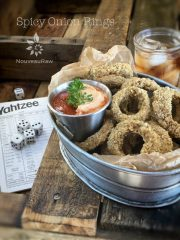 (FREE) Spicy Onion Rings (raw, vegan, gluten-free)