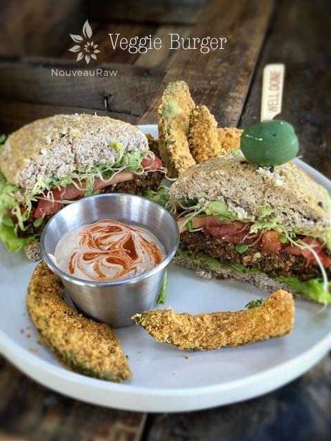Vegan Veggie Burger