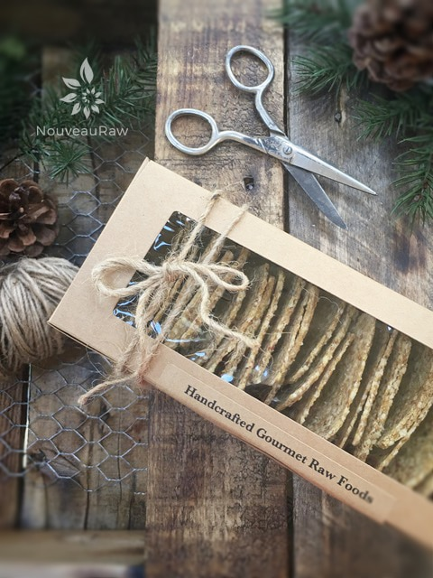 Home made crackers make wonderful gifts for loved ones. Tie some twine around the box, slap a bow on top, say a prayer over them, and send them on their way.