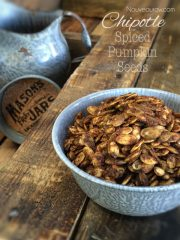 Chipotle Spiced Pumpkin Seeds (raw, vegan, gluten-free, nut-free)