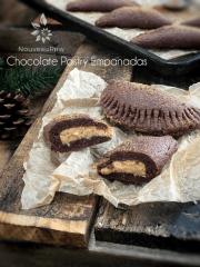 Chocolate Pastry Empanadas (raw, vegan, gluten-free)