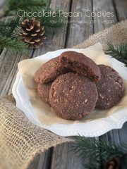 Chocolate Pecan Cookies (raw, vegan, gluten-free)