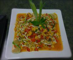 Thai Fruit Salad (raw, vegan, gluten-free, nut-free)