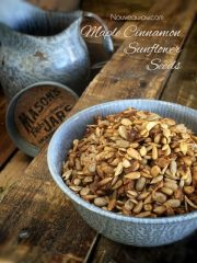 Maple Cinnamon Sunflower Seeds (raw, vegan, gluten-free, nut-free)