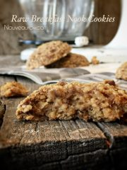 Breakfast Nook Cookies (raw, gluten-free, vegan)
