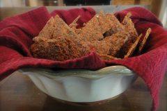 Veggie-Flax-Crackers