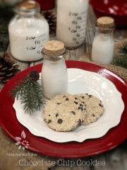 Chocolate Chip Cookies (raw, vegan, gluten-free)