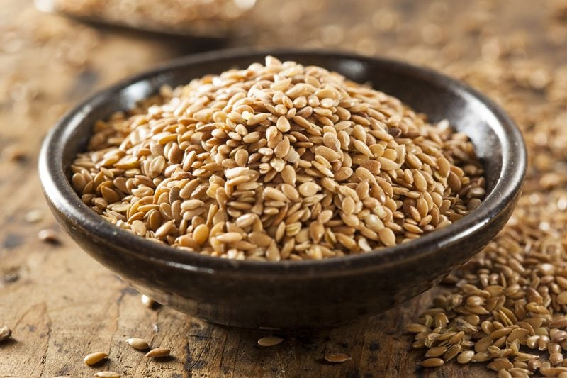 Grinding and Soaking Flax Seeds