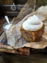 Vanilla Frosting (raw, vegan, gluten-free)