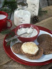 Frosted Gingerbread Cookie (raw, vegan, gluten-free)