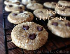 Chocolate Chip Cookies (raw, gluten-free)