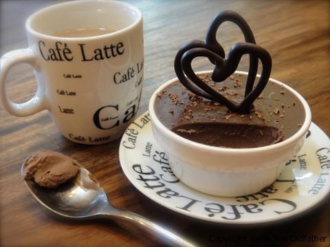 A Special love dessert, Raw Gluten-Free Chocolate Mocha Cheesecake