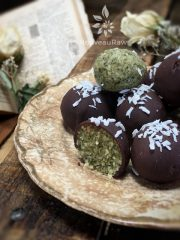Candy Coating Chocolate  (raw, vegan, gluten-free, nut-free)