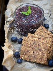 Apple Oat Bread  (raw, vegan, gluten-free, nut-free)