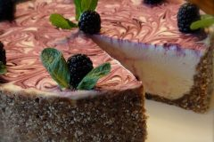 Blackberry-Lemon-Cheesecake