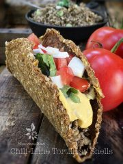 Chili-Lime Tortillas / Shells (raw, vegan, gluten-free, nut-free)