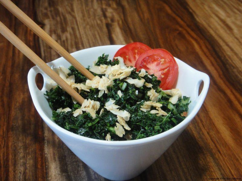 Cumin Kale Salad