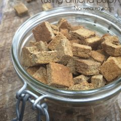 raw, Vegan, and gluten free Italian Seasoned Crouton