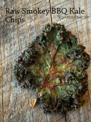 Smokey BBQ Kale Chips (raw, vegan, gluten-free, nut-free)