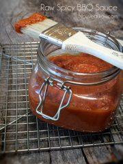 Spicy BBQ Sauce (raw, vegan, gluten-free, nut-free)