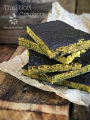 Thai Nori Crackers (raw, vegan, gluten-free, nut-free)