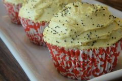 Raw Lemon Poppyseed Cake