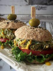 Veggie Burger Buns  (raw, vegan, gluten-free)