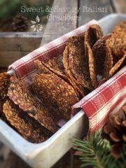 Sweet & Savory Italian Crackers (raw, vegan, gluten-free, nut-free)