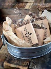 Chocolate Chip Banana Bread Bars (raw, vegan, gluten-free)