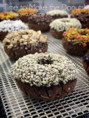 Double Chocolate Cake Doughnuts (raw, vegan, gluten-free)