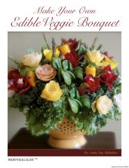 Make your own Edible Veggie Bouquet (PDF version)