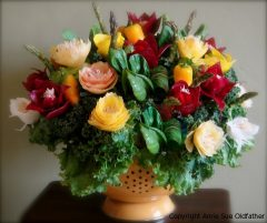 Edible Veggie Bouquet ebook – coming soon!