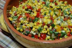 Zesty Lime Corn Salad