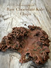 Chocolate Coconut Kale Chips (raw, vegan, gluten-free)