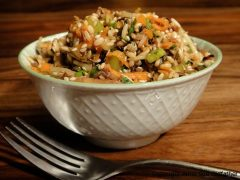 Sweet and Spicy Asian Bloomed Wild Rice (raw, vegan, gluten-free, nut-free)