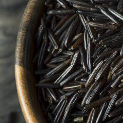 close-up-black-rice