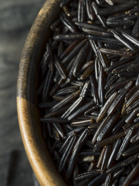 close-up-black-rice