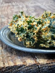Mexican Cheese Kale Chips (raw, vegan, gluten-free, nut-free)
