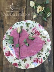 Dragon Fruit Ice Cream (raw, vegan, gluten-free)