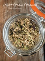 Sweet Grain Granola  (raw, vegan, gluten-free, nut-free)