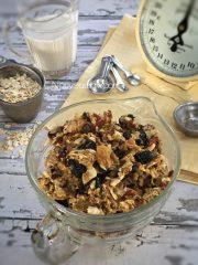 Fruitcake Granola (raw, vegan, gluten-free)