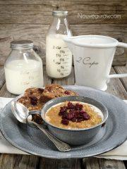 Gingerbread Pumpkin Quinoa Porridge (raw, vegan, gluten-free)