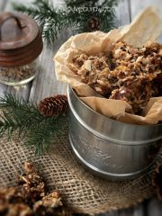 Abso-FIG-ing-lutely Granola (raw, vegan, gluten-free)