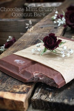 (FREE) Chocolate Mint Crunch Coconut Bark