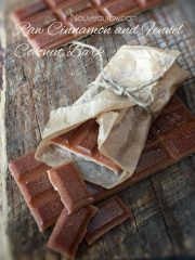 Cinnamon and Fennel Coconut Bark  (raw, vegan, gluten-free, nut-free)