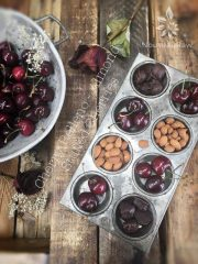Almond Cherry Relleno (raw, vegan, gluten-free)