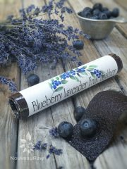 Blueberry Lavender Fruit Leather (raw, vegan, gluten-free, nut-free)